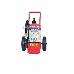 Mild Steel Lifeguard Dry Powder Wheeled 2Kg Fire Extinguisher 3225, Capacity: 25kg