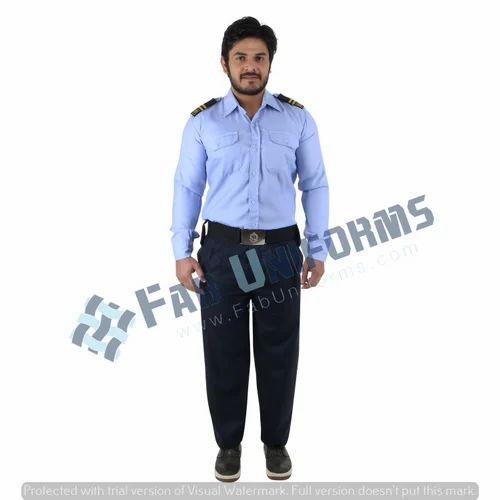 46b446379 Poly Cotton Plain Security Guard Uniform, Rs 390 /pair, Seraphic ...