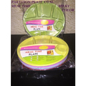 Meal Time Plastic Partition Plate