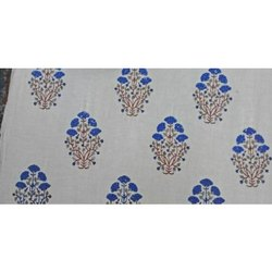 Cotton Running Fabric HAND BLOCK PRINTING SERVICES