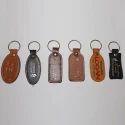 Leather Embossed Key Rings