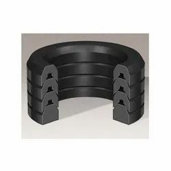 Black Graphite Filled PTFE Gasket, For Automobile Industry, Thickness: 5-10 Mm