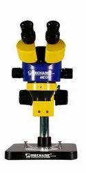 MECHANIC MC75T-B1 .7-4.5X Trinocular Stereo Microscope With LED Light & Lens 0.5x