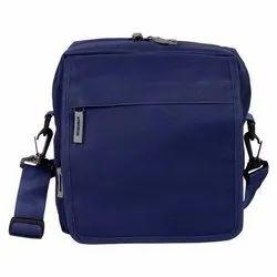 Blue Cotton Canvas Bags