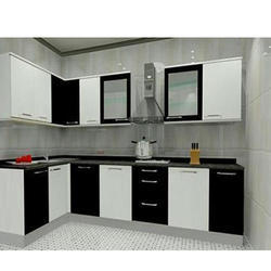 Modular Kitchen Design Kolkata l shape modular kitchen in kolkata, west bengal | manufacturers