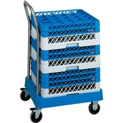 Plate Collection Trolley With Crates