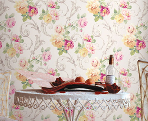 English Garden Wallpaper Wallpaper Blinds And Accessories