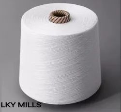 LKY Plain 18s 100% POLY GREY MIX, For Textile Industry