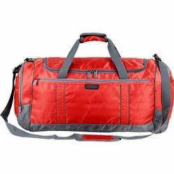 Handled Red Cord Matty Travel Bag