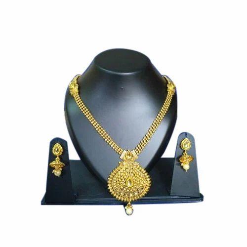 Golden Women's Jewellery Set, Rs 120 /set S.K. Arts | ID: 16414284391