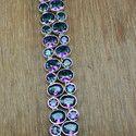 Mystic Topaz Gemstone 925 Sterling Silver Bracelet