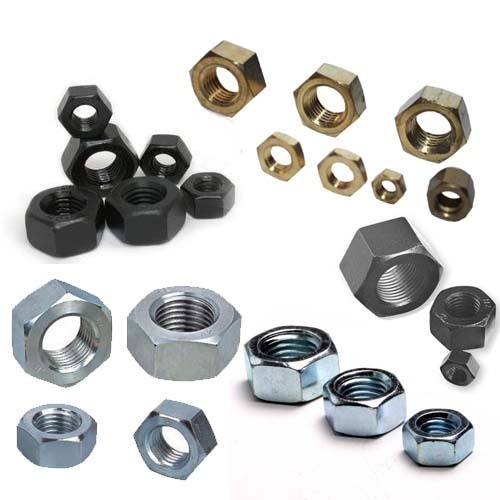 FOR SS GRADE - APL and KUNDAN... HighTensile - TVS Hexagon Nuts, Size: M4 upto M52