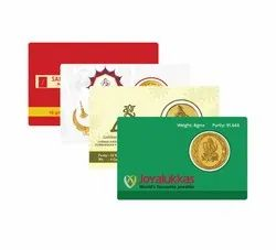 Gold Coin Card