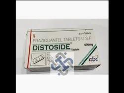Distoside Praziquantel Tablets, Dose: 600 mg