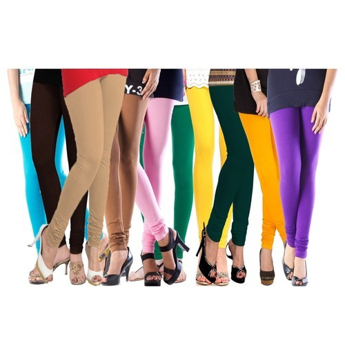 375fe07567 Cotton Lycra 140 Gsm Leggings Pack Of 10 Free Size