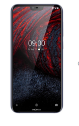 Black Nokia 6 Point 1 Plus Mobile Phone