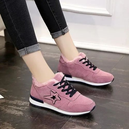 Pink Fury Sneakers for Women, Fashion