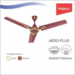 Ceiling Fan (AERO PLUS BROWN)
