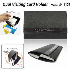 Dual Visiting Card Holder H-1121