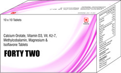 Calcium Orotate Vit D 3 Vit K2-7 Methylcobalamin Magnesium & Isoflavone Tablet