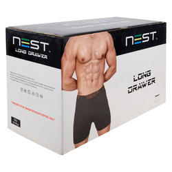 Multicolor NEST Men's Long Trunk Outer Underwear