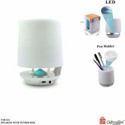 Giftmart White Speaker With Penholder
