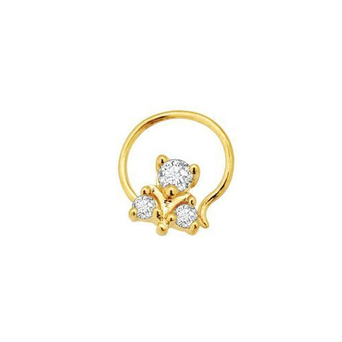 Fancy Diamond Nose Ring at Rs 3500 piece Diamond Nose Ring