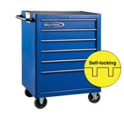 6 Drawers Blue Point Tools Trolley