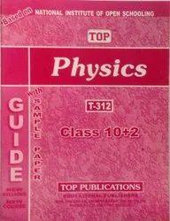 Nios Help Books - Nios Class 12th Physics (312) Guide Book in English Medium