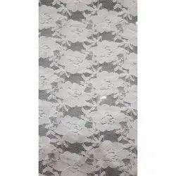 White Fancy Net Suit Fabric