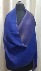 Fine Wool Zari Reversible Stoles