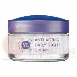 Nature Anti Aging Daily Night Cream, Tube