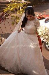 Full Sleeve Wedding Gown