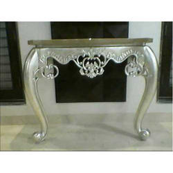 Silver Leafing On Designer Table At Rs