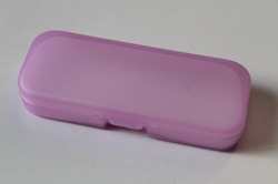 Plastic Pink Spectacle Case