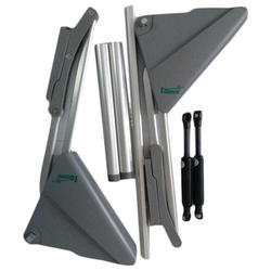 Klove Metal Kitchen Lift Up Door Hinges For Cabinet Fitting Rs 1800 Set Id 19345417791