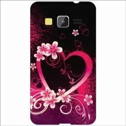 Plastic Black, Pink 3D Printed Mobile Back Cover, Size: 5.5 Inch