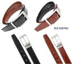 Brown Leatherette Belt