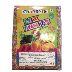 3 Months Round Chandani Mix Fruit Candy Balls, Packaging Type: Plastic Jar, Packaging Size: 60 piece