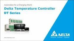 Black DELTA TEMPERATURE CONTROLLERS, Size: 48*48 mm, 230Vac