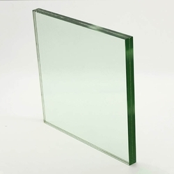 Transparent 51-100 Square Feet Toughened Glass, Shape: Flat