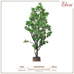 Plastic Artificial NEB-JO-010 Green High Quality Decorative Plant