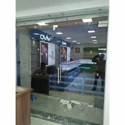 Transparent Office Toughened Glass