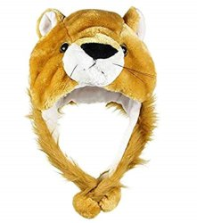 Handcuffs Brown Animal Hat, Size: Free