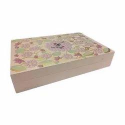 Wooden Box Invite Luxury Wedding Invitation Box, Size: 8