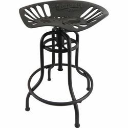 Industrial Cast Iron Tractor Seat Bar Stool And Chair