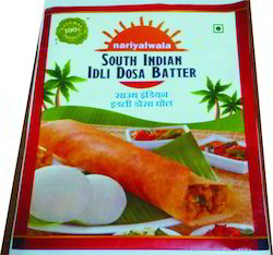Laminated South Indian Idli Dosa Batter Packaging Pouches