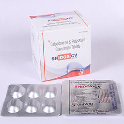 Cefpodoxime Proxetil 200 Mg Calvulanate Potassium 125 Mg