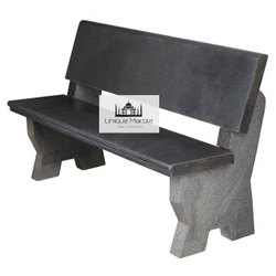 Granite Bench With Back