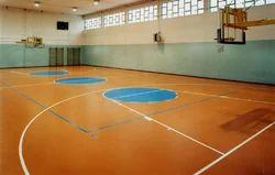 Indoor Basketball Court Flooring Service